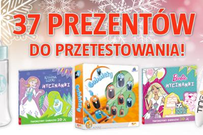 WIELKIE TESTOWANIE PREZENTÓW DLA DZIECI – wybierz swój prezent spośród wielu nagród!