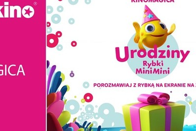 KONKURS! Wygraj bilety na urodzinowe show Rybki MiniMini w kinie!
