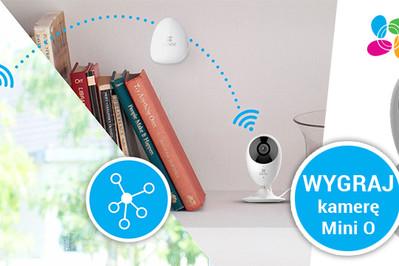 Zawsze podgląd na dom: wygraj mini kamerę marki EZVIZ!