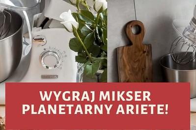 TESTOWANIE! Wygraj Mikser planetarny Ariete i daj dzieciom wspomnienia domowych wypieków!