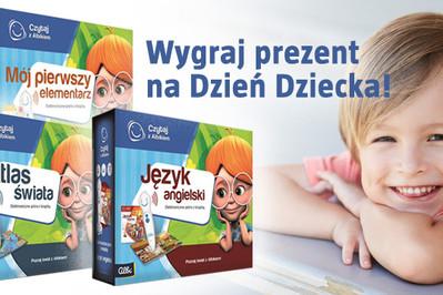 KONKURS: Albik czeka na Dzień Dziecka! Wygraj mówiące pióro z książką!