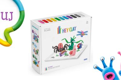 TESTOWANIE Masa kreatywnej zabawy z Hey Clay: ulep stworka albo biżuterię!