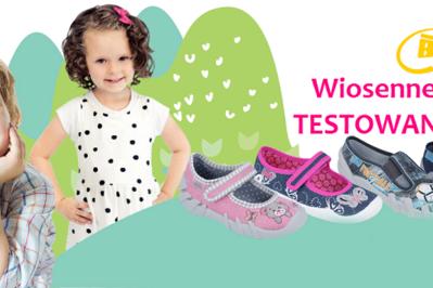 Wygraj buciki: Dziecięca wiosna z butami Befado! TESTOWANIE