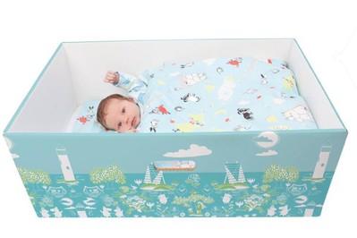 Fińskie dzieci śpią w kartonach, które zachwycają świat! SONDA