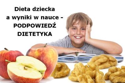 Problemy w nauce? Zadbaj o dietę dziecka!