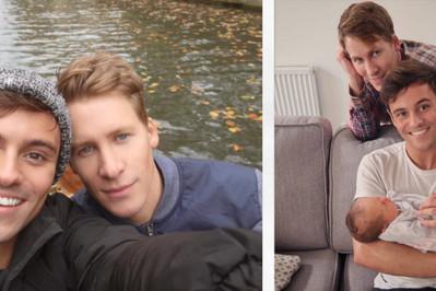 Sławna para gejów doczekała się pierwszego dziecka!