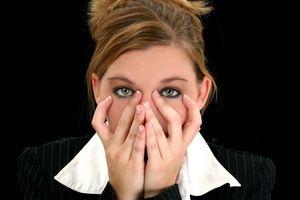 Zestresowane serce kobiety