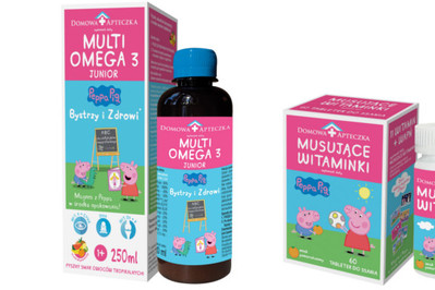 MultiOmega 3 Junior emulsja o smaku owoców tropikalnych, bez posmaku ryby z Domowej Apteczki