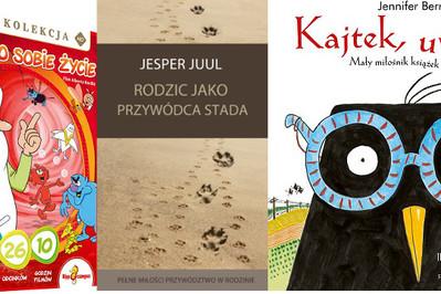To warto przeczytać! Nowości książkowe dla dziecka i rodzica – TOP 5 KWIECIEŃ