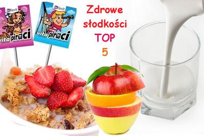 Zdrowe słodkości do szkoły TOP 5