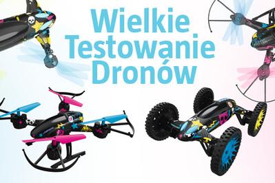 Wyniki: TESTOWANIE: Teraz latający DRON może być Twój!