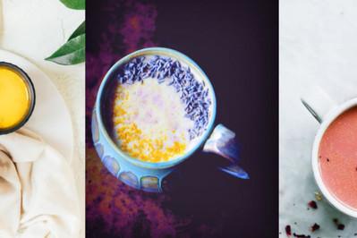 """Nowy pyszny HIT: """"Moon milk"""" czyli ciepłe mleko z dodatkami? ZDJĘCIA"""