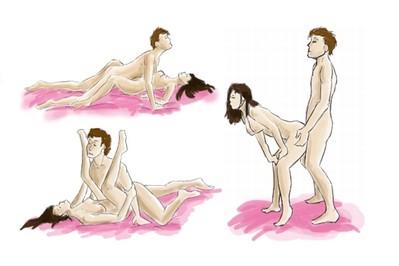 Żeby seks skutkował ciążą - pozycje seksualne