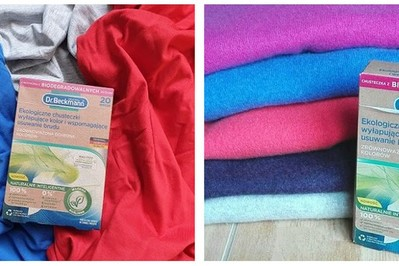 Czy można prać w pralce wszystkie kolory razem? Tak, sprawdź OPINIE po testowaniu nowych ekologicznych chusteczek wyłapujących kolor i wspomagających usuwanie brudu.