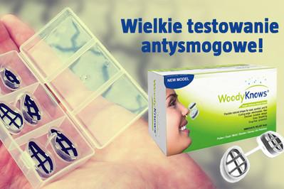 Wielkie testowanie antysmogowe: dyskretne filtry do nosa