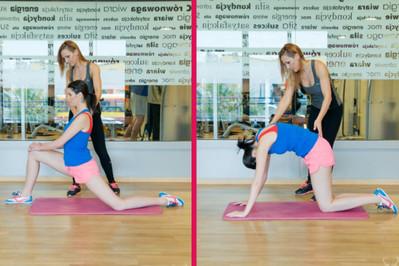 Trening 6 z Anią Troszczyńską Trenerką Dla Mam