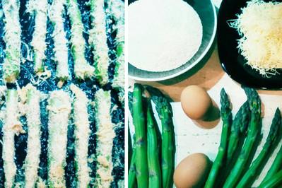 Frytki ze szparagów – KROK PO KROKU
