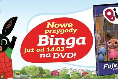 Wielki Konkurs z BINGIEM – wygraj DVD i zabawkę!