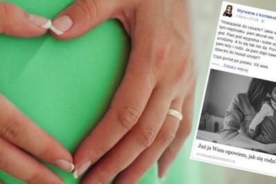 Poród tej blogerki to koszmar - czy w Polsce można rodzić po ludzku?