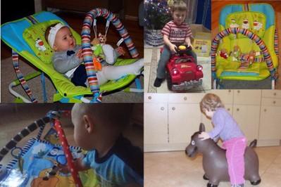 Testowanie zabawek Sun Baby - opinie mam blogerek
