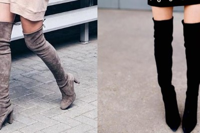 Kozaki za kolano - jak nosić? Pomysły na stylizacje