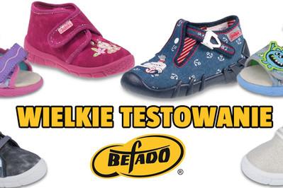 WYNIKI TESTOWANIA: Wygraj i wypróbuj buty polskiej firmy Befado!