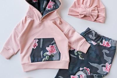 Modna i stylowa odzież dla dziecka, mamy i taty