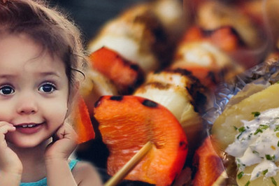 Przepisy na dania z grilla dla dzieci – PROSTE CO NIECO