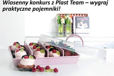 Wiosenny konkurs z Plast Team – wygraj praktyczne pojemniki!