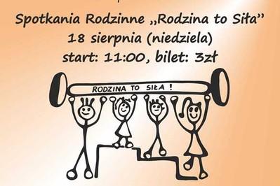 Zapraszamy na Spotkanie Rodzinne 18 sierpnia w Pacanowie!