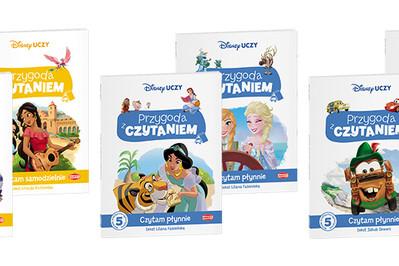 """TESTOWANIE! Zostań recenzentką książek do nauki czytania z serii """"Disney Uczy. Przygoda z Czytaniem"""""""