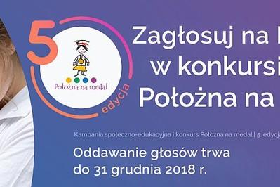 Miesiąc do zakończenia ogólnopolskiego konkursu na najlepszą Położną!