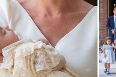 Książę Louis ma 6 chrzestnych! ZDJĘCIA z ceremonii chrztu
