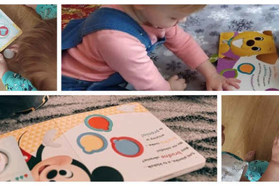 Nasze Mamy testowały książki z serii Disney Maluch – były zachwycone!