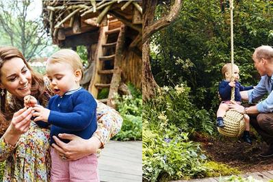 """W ramach projektu """"Powrót do Natury"""" księżna Kate zaprojektowała ogród dla dzieci ZDJĘCIA"""