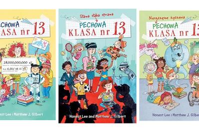 KONKURS czytamy na wiosnę: wygraj niesamowite przygody Pechowej klasy nr 13!