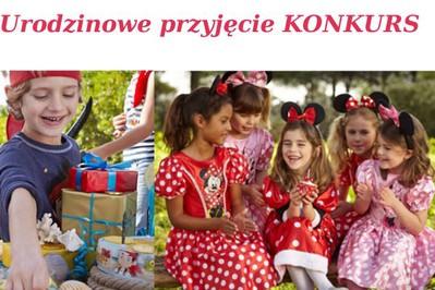 Urodzinowe przyjęcie - KONKURS - wygraj voucher zakupowy na gadżety dla dziecka!