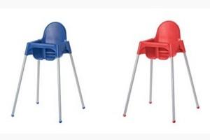 Uwaga na krzesełka dla dzieci Ikea!