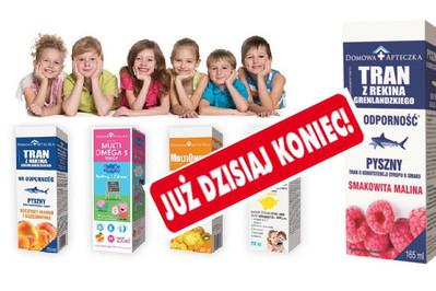 Co wzmacnia zdrowie dzieci? TESTOWANIE TRANU! WYNIKI I ETAPU!