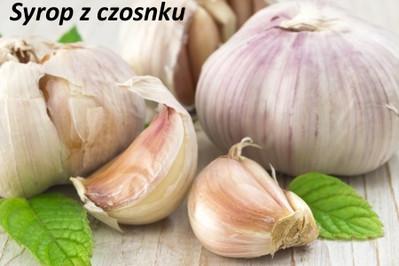 Syrop z czosnku, czyli idealny eliksir na przeziębienie!