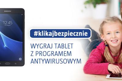 KONKURS: Klikaj bezpiecznie i wygraj tablet z antywirusem dla dziecka!