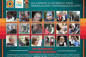 Konkurs literacki dla uczniów szkół olsztyńskich