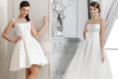 Krótka sukienka ślubna – HOT or NOT?!