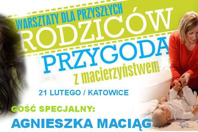 """Bezpłatne warsztaty """"Przygoda z macierzyństwem"""" 21-go lutego w Katowicach!"""