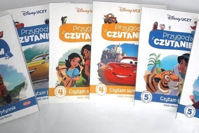 """TESTERZY OCENILI: Recenzje książek do nauki czytania z serii """"Disney Uczy. Przygoda z Czytaniem"""""""
