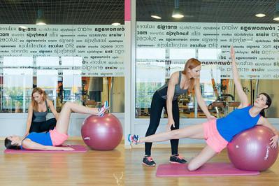 Body ball - trening 4 z Anią Troszczyńską Trenerką Dla Mam
