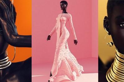 Shudu Gram podbija świat mody! Jest jeden problem - nie istnieje!