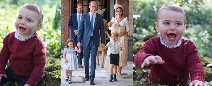 Książę Louis kończy 1. rok! Rodzina królewska opublikowała nowe ZDJĘCIA. Jak Wam się podobają?