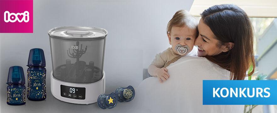 KONKURS: wygraj elektryczny sterylizator z suszarką LOVI oraz akcesoria do karmienia!