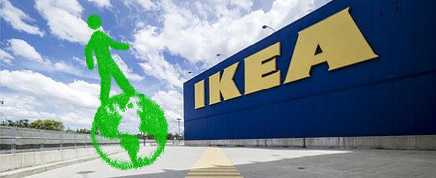 IKEA bez plastikowych toreb, słomek i sztućców - bardzo ekologicznie!